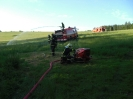 Einsatzübung Flächenbrand in Weipert